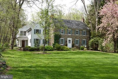 Bucks County Single Family Home For Sale: 21 Tettemer Road
