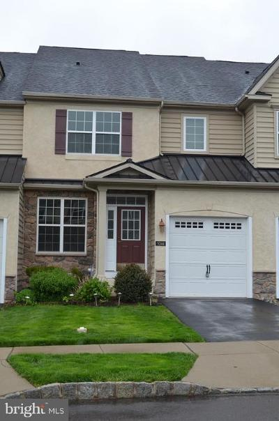 Bucks County Townhouse For Sale: 3244 Brookside Drive