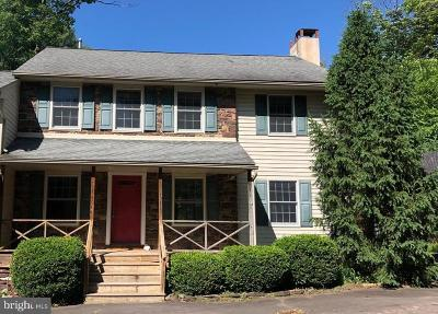 Bucks County Single Family Home For Sale: 404 Marienstein Road
