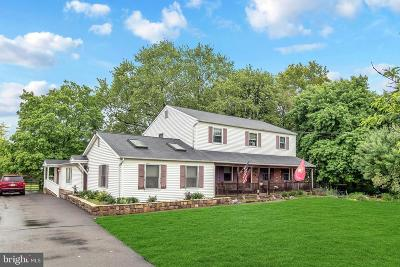 Single Family Home For Sale: 2102 Hilltown Pike