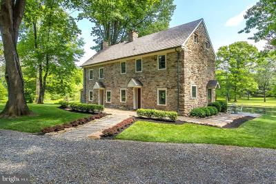 Bucks County Single Family Home For Sale: 3867 Cold Spring Creamery Road