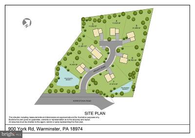 Bucks County Residential Lots & Land For Sale: 900 York Road