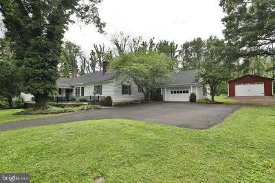 Bucks County Single Family Home For Sale: 4921 Curly Hill Road