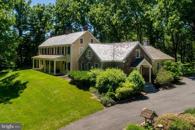 Solebury Single Family Home For Sale: 5955 Sawmill Road