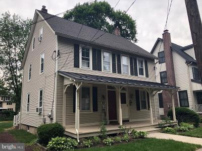 Doylestown Single Family Home For Sale: 297 Belmont Avenue