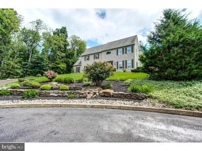 Bucks County Single Family Home For Sale: 4191 Hillside Circle