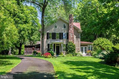 Solebury, New Hope Single Family Home For Sale: 1312 River Road