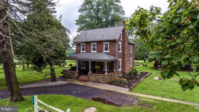 Bucks County Single Family Home For Sale: 1656 Salem Road