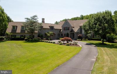 Solebury, New Hope Single Family Home For Sale: 3205 Creamery Road