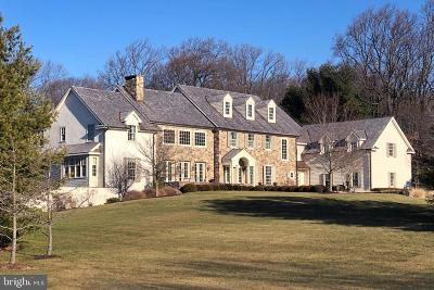 Solebury, New Hope Single Family Home For Sale: 6151 Greenhill Road