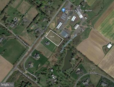 Bucks County Residential Lots & Land For Sale: Lot 6 Kingfisher Lane