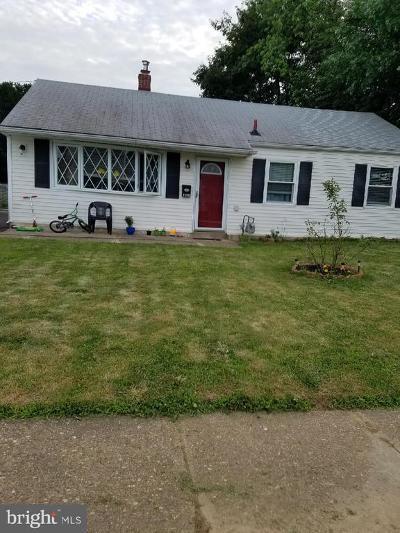 Bensalem Single Family Home For Sale: 3638 Morrow Drive