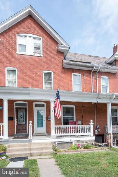 Bucks County Townhouse For Sale: 341 Franklin Street