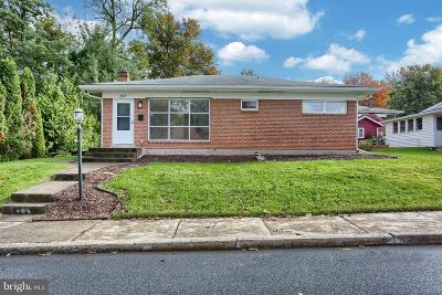 Camp Hill PA Single Family Home For Sale: $154,900