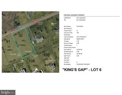 Carlisle Residential Lots & Land For Sale: