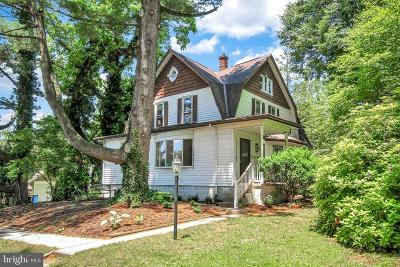 Cumberland County Single Family Home For Sale: 2320 Page Street