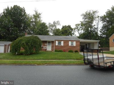 Camp Hill, Mechanicsburg Single Family Home For Sale: 1906 Logan Street