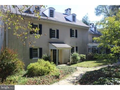Chester Springs Single Family Home For Sale: 3201 Yellow Springs Road