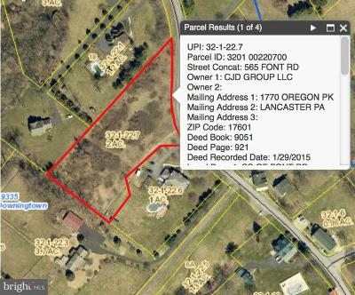 Downingtown Residential Lots & Land For Sale: 561 Font Road