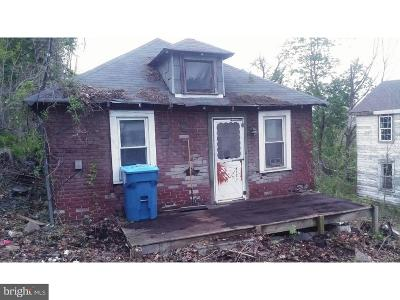 Coatesville PA Single Family Home For Sale: $9,900