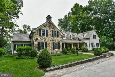 Chester Springs Single Family Home For Sale: 2323 S Chester Springs Road