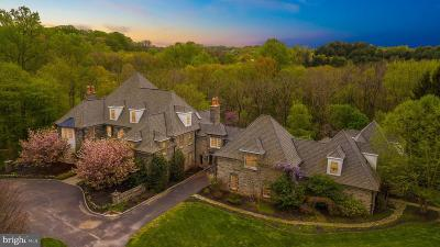 Chadds Ford PA Single Family Home For Sale: $2,750,000