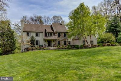 Newtown Square Single Family Home For Sale: 41 Old Covered Bridge Road