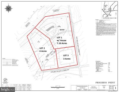 Chadds Ford PA Residential Lots & Land For Sale: $950,000
