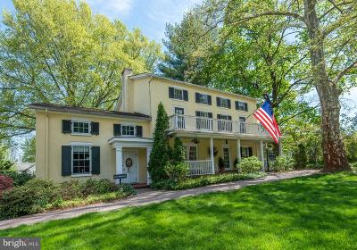 Chadds Ford PA Single Family Home For Sale: $2,495,000