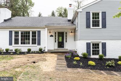 Berwyn Single Family Home Active Under Contract: 1011 Tenby Road