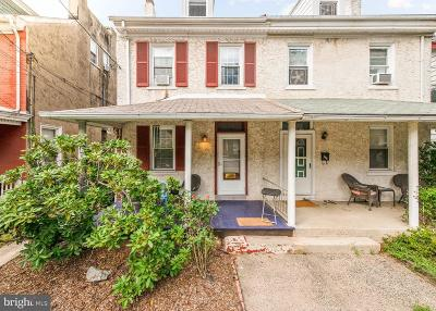 Phoenixville Single Family Home For Sale: 233 Morgan Street