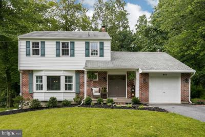 Exton Single Family Home For Sale: 418 Devon Drive