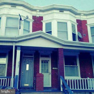 Harrisburg Townhouse For Sale: 2345 Logan Street