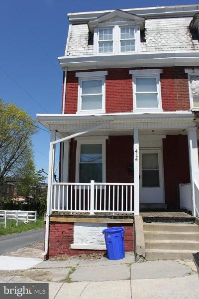 Harrisburg PA Townhouse For Sale: $40,000