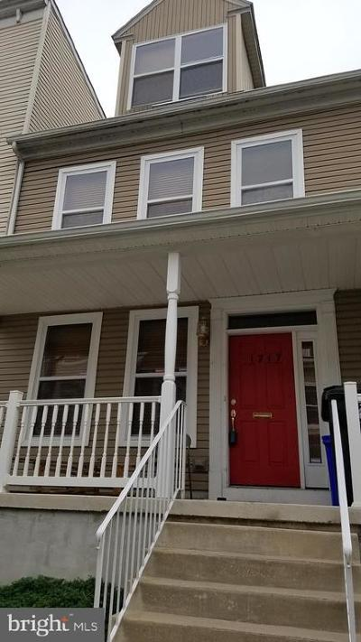 Dauphin County Townhouse For Sale: 1717 Fulton Street