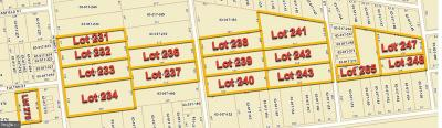 Residential Lots & Land For Sale: Lots N 62nd, 63rd, 64th, 65th & Fulton Street