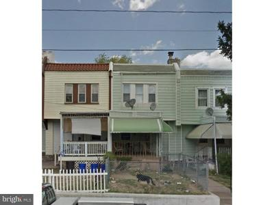 Upper Darby Townhouse For Sale: 6949 Guilford Road