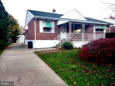 Yeadon Single Family Home For Sale: 106 Norma Road