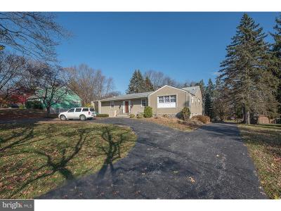 Newtown Square Single Family Home For Sale: 279 Overbrook Drive