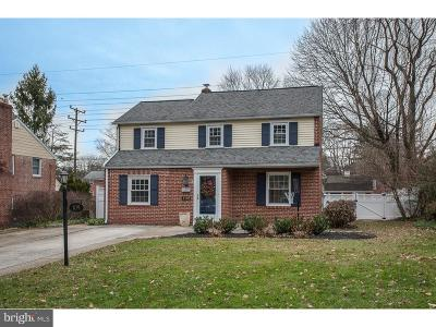 Bryn Mawr Single Family Home Active Under Contract: 109 Fairfax Road