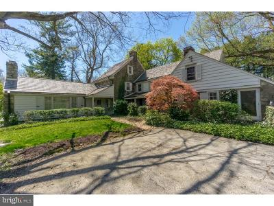 Glen Mills Single Family Home For Sale: 1329 Sycamore Mills Road