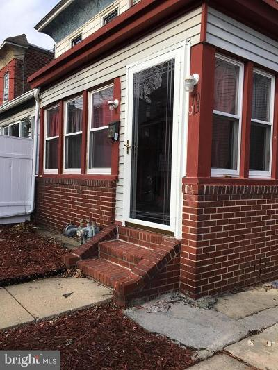 Upper Darby Single Family Home For Sale: 1013 Tyler Avenue