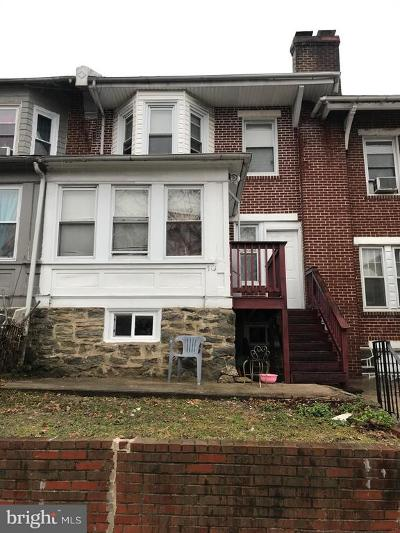 Upper Darby Townhouse For Sale: 18 Sunshine Road