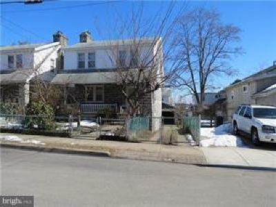 Upper Darby Single Family Home For Sale: 1 Kenmore Road