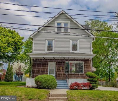 Delaware County Single Family Home For Sale: 213 Burmont Road