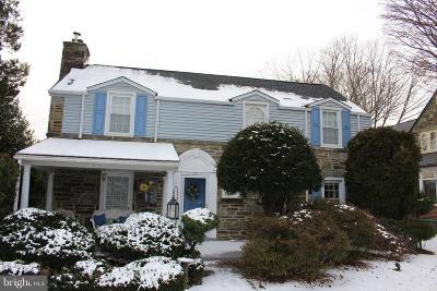 Delaware County Single Family Home For Sale: 30 N Belfield Avenue