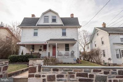 Bryn Mawr Single Family Home For Sale: 721 Preston Avenue