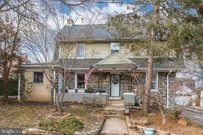 Upper Darby Single Family Home For Sale: 110 Maplewood Avenue
