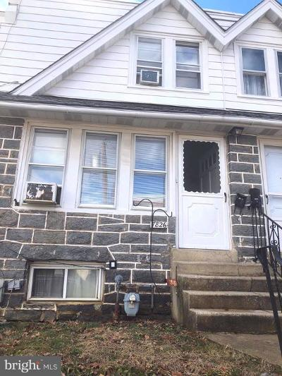 Upper Darby Townhouse For Sale: 7826 Westview Avenue
