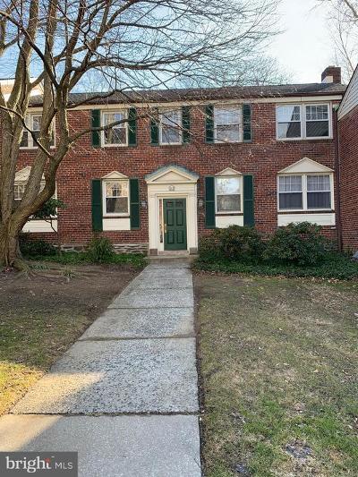 Wayne Single Family Home Active Under Contract: 500 E Lancaster Avenue #112D